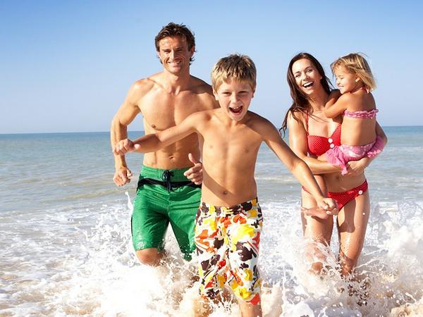 Недорогой семейный отдых на море